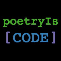 poetry Is CODE